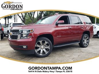 2018 Siren Red Tintcoat Chevrolet Tahoe LT EcoTec3 5.3L V8 Flex Fuel Engine 4 Door RWD Automatic SUV