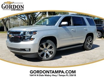 2018 Silver Ice Metallic Chevrolet Tahoe LT 4 Door SUV Automatic