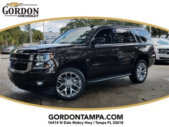 2018 Havana Metallic Chevrolet Tahoe LT 4 Door RWD SUV EcoTec3 5.3L V8 Flex Fuel Engine