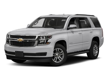 2018 Silver Ice Metallic Chevy Tahoe LT Automatic SUV EcoTec3 5.3L V8 Flex Fuel Engine RWD 4 Door