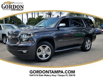 2018 Tungsten Metallic Chevrolet Tahoe Premier SUV Automatic 4 Door