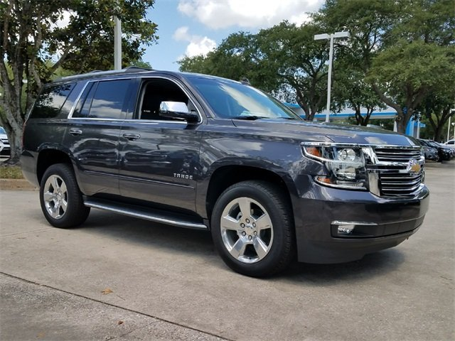 2018 Tungsten Metallic Chevy Tahoe Premier RWD SUV 4 Door