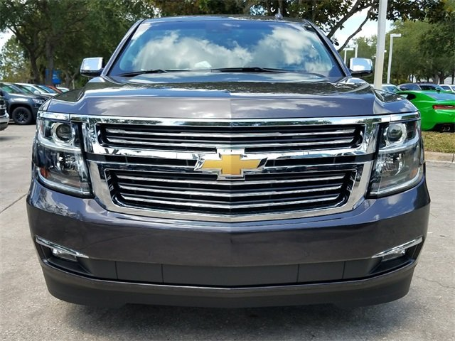 2018 Tungsten Metallic Chevy Tahoe Premier SUV 4 Door EcoTec3 5.3L V8 Flex Fuel Engine Automatic