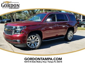 2018 Siren Red Tintcoat Chevrolet Tahoe Premier SUV RWD 4 Door Automatic EcoTec3 5.3L V8 Flex Fuel Engine