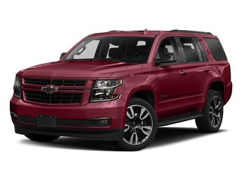 2018 Siren Red Tintcoat Chevy Tahoe Premier SUV RWD Automatic 4 Door EcoTec3 5.3L V8 Flex Fuel Engine