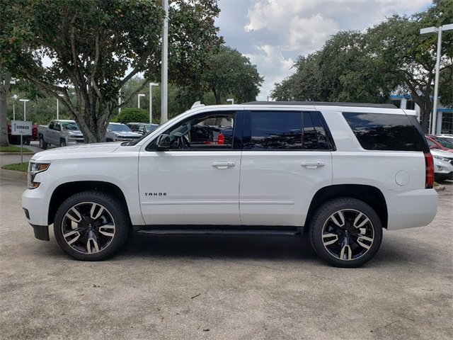 2019 Summit White Chevy Tahoe Premier SUV 4 Door Automatic RWD