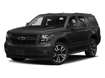 2018 Black Chevy Tahoe Premier 4 Door Automatic EcoTec3 5.3L V8 Flex Fuel Engine SUV