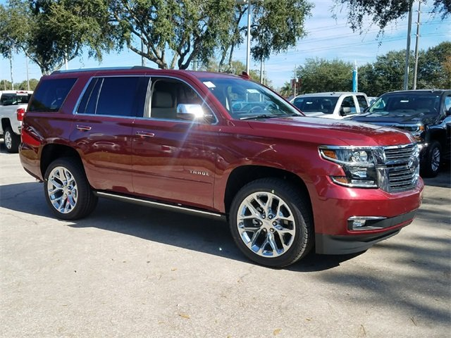 2018 Siren Red Tintcoat Chevy Tahoe Premier 4 Door RWD Automatic EcoTec3 5.3L V8 Flex Fuel Engine SUV