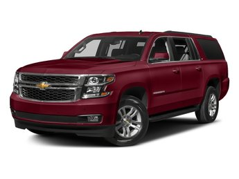 2018 Siren Red Tintcoat Chevy Suburban LT RWD Automatic EcoTec3 5.3L V8 Engine SUV 4 Door