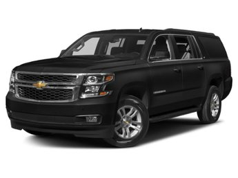 2019 Black Chevy Suburban Premier SUV Automatic RWD EcoTec3 5.3L V8 Engine 4 Door
