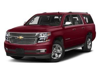 2018 Siren Red Tintcoat Chevy Suburban Premier 4 Door RWD Automatic EcoTec3 5.3L V8 Engine