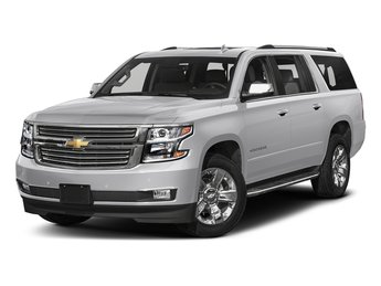 2018 Silver Ice Metallic Chevy Suburban Premier EcoTec3 5.3L V8 Engine SUV 4 Door RWD Automatic