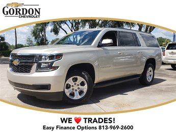 2015 Chevrolet Suburban LT, CARFAX CERTIFIED, LEATHER! V8 Engine SUV RWD