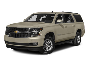 2015 Champagne Silver Metallic Chevy Suburban LT 4 Door SUV Automatic V8 Engine