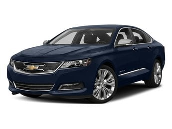2018 Blue Velvet Metallic Chevy Impala Premier Sedan 4 Door Automatic