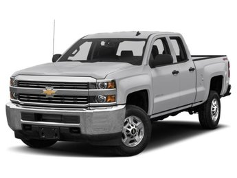 2019 Silver Ice Metallic Chevy Silverado 2500HD LT 4 Door Automatic Vortec 6.0L V8 SFI Flex Fuel VVT Engine Truck 4X4