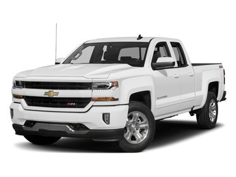 2018 Summit White Chevy Silverado 1500 LT Automatic RWD EcoTec3 5.3L V8 Flex Fuel Engine 4 Door