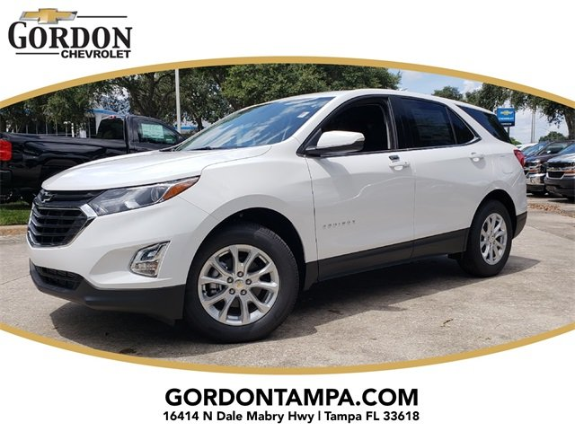 2019 Summit White Chevrolet Equinox LT SUV FWD 1.5L DOHC Engine Automatic