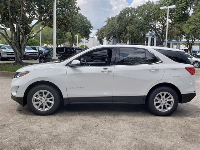 2019 Summit White Chevy Equinox LT 4 Door Automatic FWD 1.5L DOHC Engine SUV