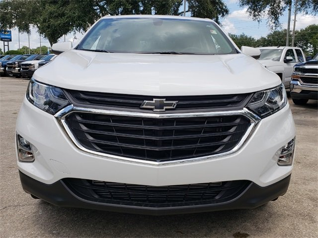 2019 Summit White Chevy Equinox LT Automatic FWD 4 Door SUV