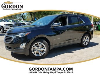 2018 Mosaic Black Metallic Chevrolet Equinox LT Automatic 2.0L Turbocharged Engine 4 Door SUV FWD
