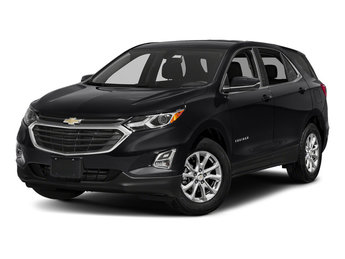 2018 Mosaic Black Metallic Chevy Equinox LT 4 Door FWD SUV Automatic