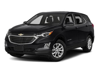 2018 Mosaic Black Metallic Chevy Equinox LT FWD 2.0L Turbocharged Engine 4 Door SUV Automatic