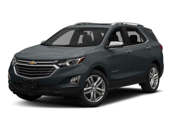 2018 Nightfall Gray Metallic Chevy Equinox Premier 4 Door Automatic 1.5L DOHC Engine FWD SUV