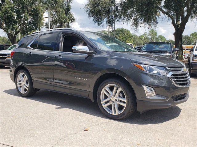 2018 Nightfall Gray Metallic Chevy Equinox Premier 1.5L DOHC Engine 4 Door Automatic SUV