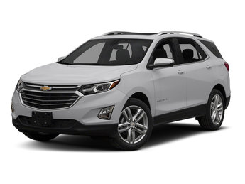 2018 Silver Ice Metallic Chevy Equinox Premier FWD 4 Door Automatic SUV