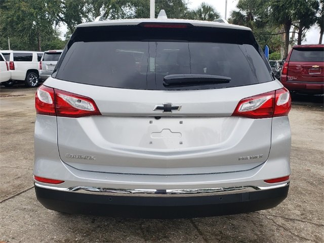 2019 Silver Ice Metallic Chevy Equinox Premier FWD 1.5L DOHC Engine Automatic SUV