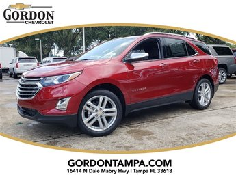 2019 Cajun Red Tintcoat Chevrolet Equinox Premier 1.5L DOHC Engine FWD 4 Door Automatic SUV