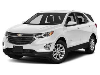 2019 Summit White Chevy Equinox Premier 2.0L Turbocharged Engine SUV Automatic