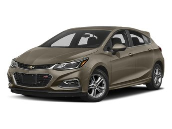 2018 Pepperdust Metallic Chevy Cruze LT Hatchback FWD 1.4L 4-Cylinder Turbo DOHC CVVT Engine Automatic