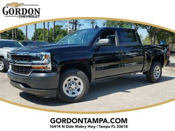 2018 Chevrolet Silverado 1500 WT Truck EcoTec3 5.3L V8 Flex Fuel Engine 4 Door RWD