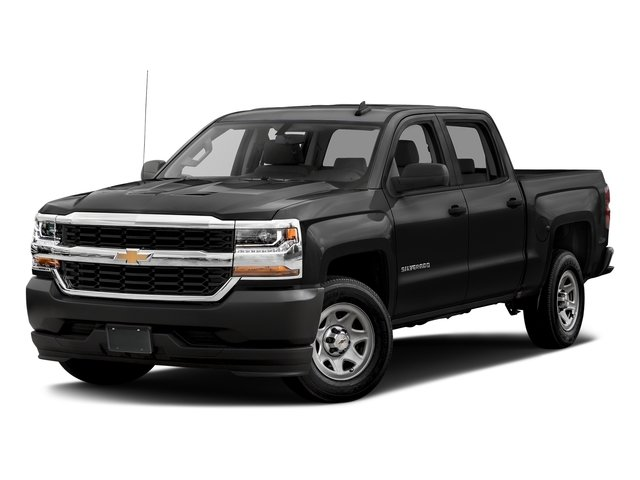 2018 Black Chevy Silverado 1500 WT EcoTec3 5.3L V8 Flex Fuel Engine Automatic Truck RWD 4 Door