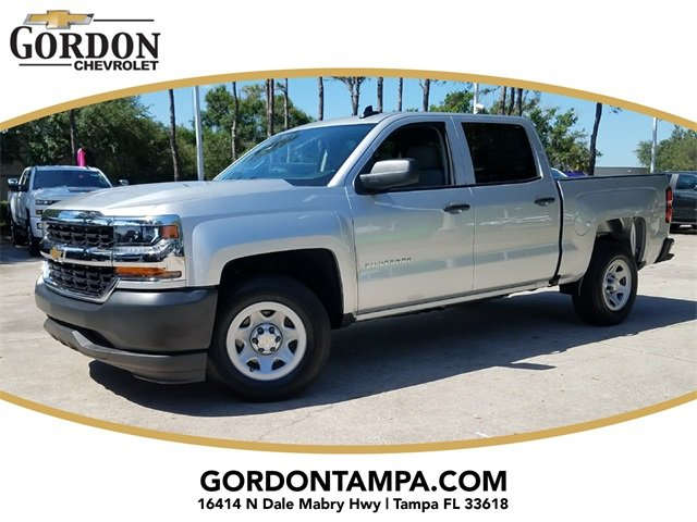 2018 Chevrolet Silverado 1500 WT EcoTec3 5.3L V8 Flex Fuel Engine 4 Door RWD Automatic