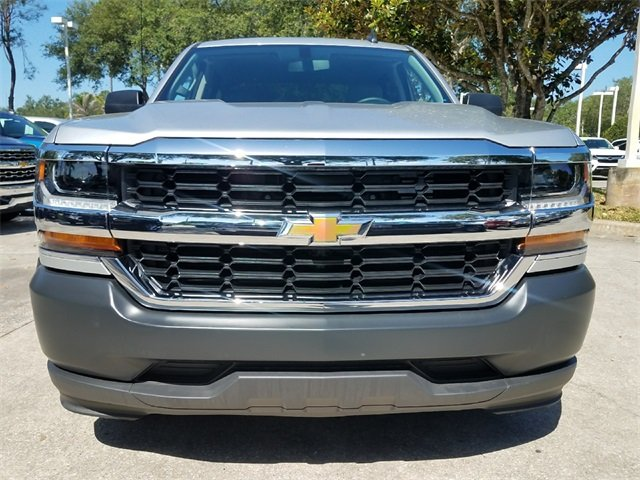 2018 Chevrolet Silverado 1500 WT Truck RWD EcoTec3 5.3L V8 Flex Fuel Engine 4 Door