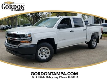 2018 Summit White Chevrolet Silverado 1500 WT Truck 4 Door RWD EcoTec3 5.3L V8 Flex Fuel Engine