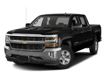 2018 Black Chevy Silverado 1500 LT RWD 4 Door EcoTec3 5.3L V8 Flex Fuel Engine Automatic Truck