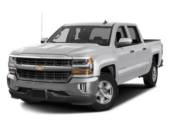 2018 Silver Ice Metallic Chevy Silverado 1500 LT Automatic RWD Truck EcoTec3 5.3L V8 Flex Fuel Engine 4 Door