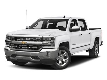 2018 Chevy Silverado 1500 LTZ 4 Door EcoTec3 5.3L V8 Flex Fuel Engine Automatic Truck RWD