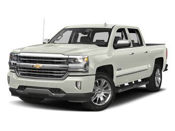 2018 Iridescent Pearl Tricoat Chevy Silverado 1500 High Country Truck Automatic EcoTec3 5.3L V8 Flex Fuel Engine