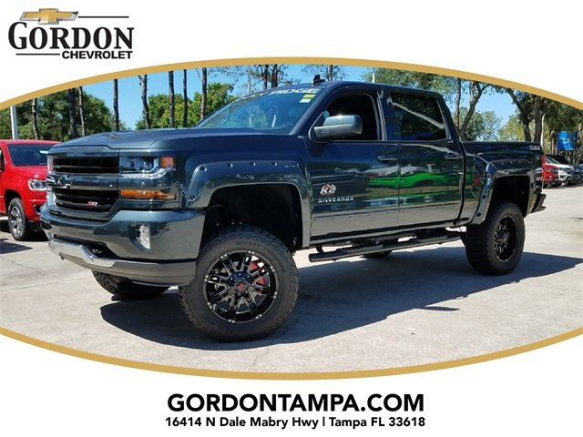 2018 Graphite Metallic Chevrolet Silverado 1500 LT Automatic 4X4 Truck EcoTec3 5.3L V8 Flex Fuel Engine 4 Door
