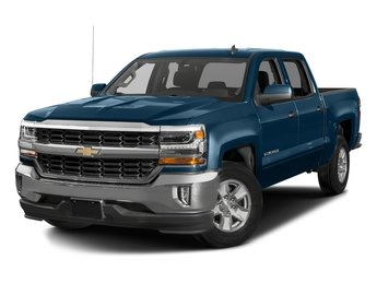 2018 Deep Ocean Blue Metallic Chevy Silverado 1500 LT EcoTec3 5.3L V8 Flex Fuel Engine Automatic 4 Door 4X4