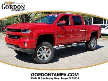 2018 Red Hot Chevrolet Silverado 1500 LT Truck 4X4 EcoTec3 5.3L V8 Flex Fuel Engine 4 Door