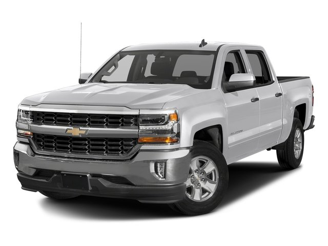 2018 Silver Ice Metallic Chevy Silverado 1500 LT 4 Door Truck 4X4 Automatic