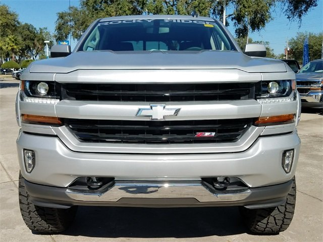 2018 Chevy Silverado 1500 LT EcoTec3 5.3L V8 Flex Fuel Engine 4X4 Truck Automatic 4 Door