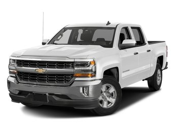 2018 Summit White Chevy Silverado 1500 LT 4X4 EcoTec3 5.3L V8 Flex Fuel Engine 4 Door Automatic