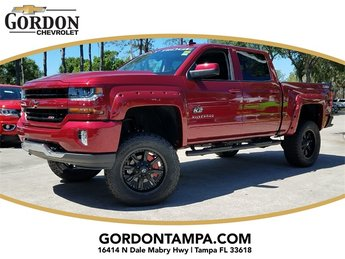 2018 Cajun Red Tintcoat Chevrolet Silverado 1500 LT 4X4 Truck EcoTec3 5.3L V8 Flex Fuel Engine Automatic 4 Door